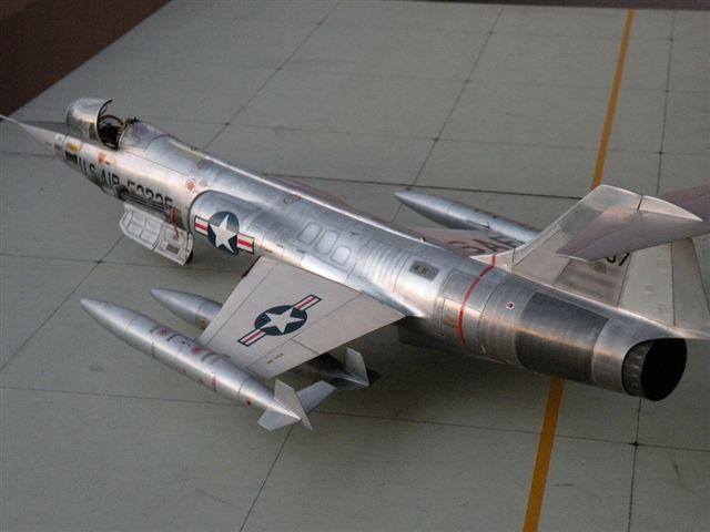Montage  F-104 G Revell 1/32 F104g210