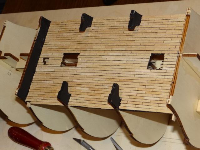 Rolf52 Baubericht zur Santissima Trinidad von OcCre Dsc01412