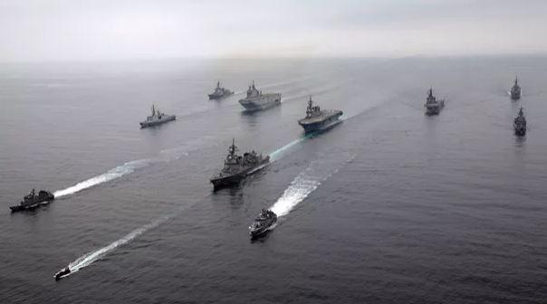 La marine française participe à des manœuvres inédites dans la zone indopacifique Marine10