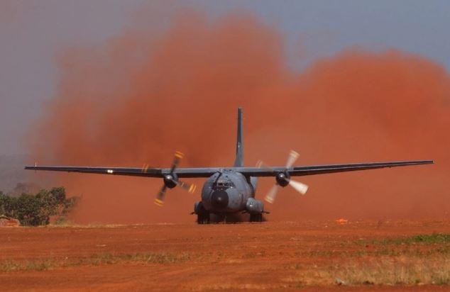 Barkhane se sépare de son dernier avion de transport Transall C-160R Transa10