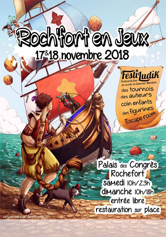 Roch'Fort en Jeux - FestiLudik 2018 - 17 & 18 Novembre à Rochefort-sur-mer (17300) 42182110