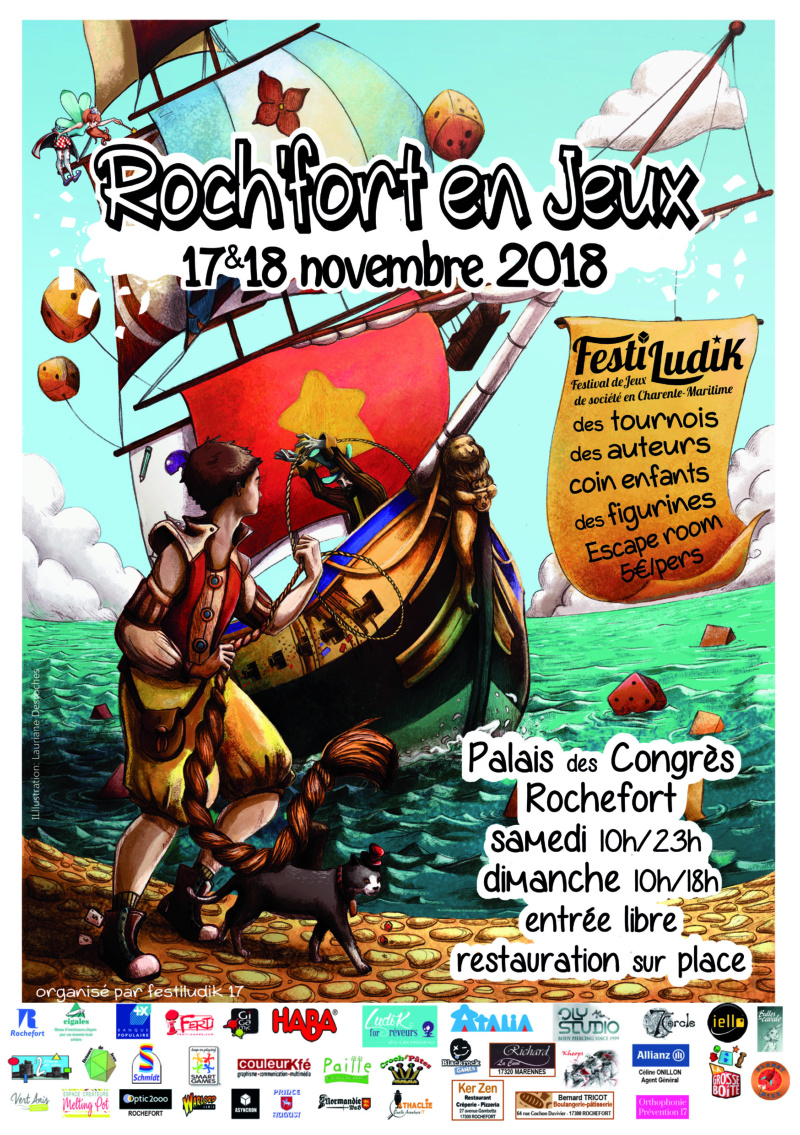 Roch'Fort en Jeux - FestiLudik 2018 - 17 & 18 Novembre à Rochefort-sur-mer (17300) A5_r_f11