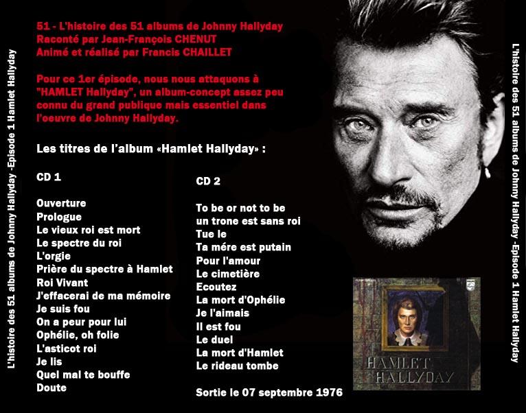 Discussions et pochettes les 51 Albums de Johnny en podcast 1-haml13