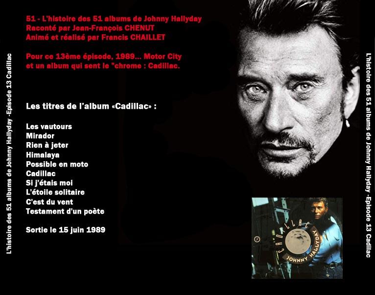 Discussions et pochettes les 51 Albums de Johnny en podcast 13_cad11