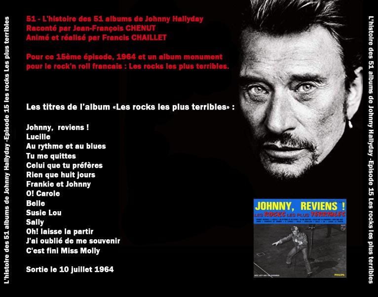 Discussions et pochettes les 51 Albums de Johnny en podcast 15_les13