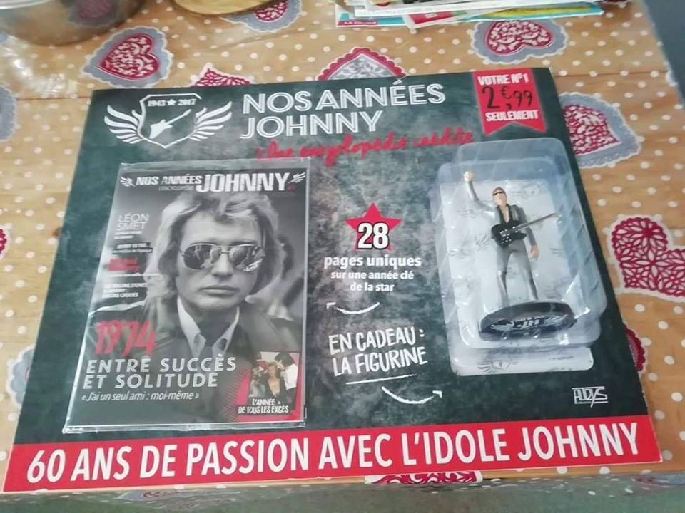 collection kiosque a journeaux nos annees johnny l encyclopedie 20031210