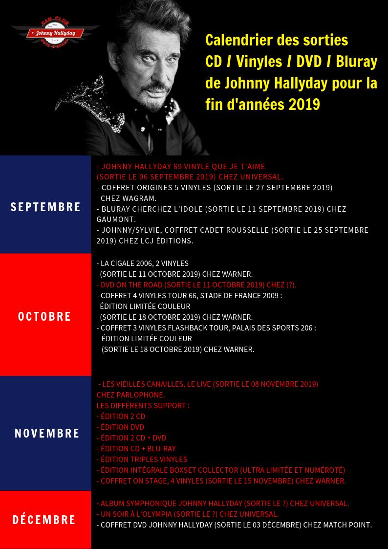 Les sorties de la fin d'année 2019. Calend11