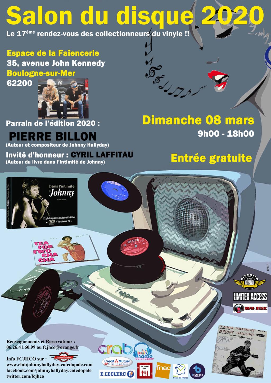 Le gros week-end de mars du Fan Club Johnny Hallyday Côte d'Opale (FCJHCO) Salon_13