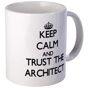 Diseño de tazas para arquitectos