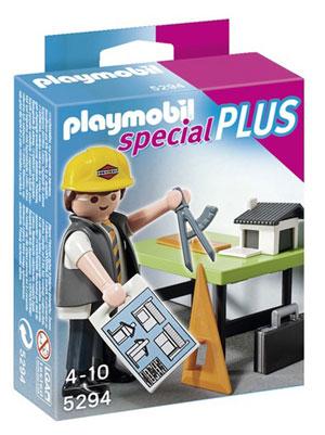 playmobil arquitecto