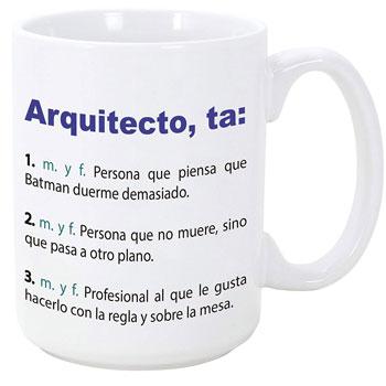 Tazas personalizadas para arquitectos