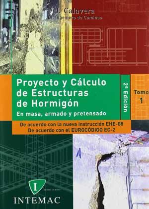 Portada del libro Proyecto y cálculo de estructuras de hormigón