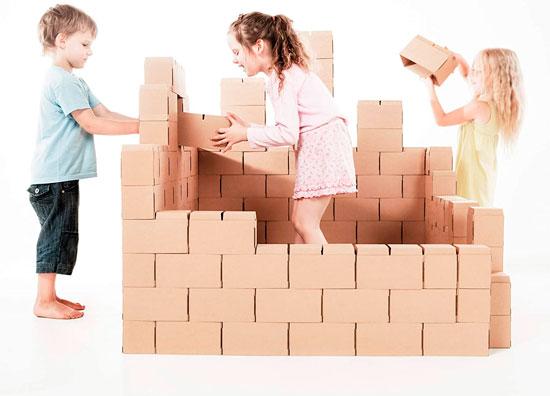 Bloques de construcción para niños