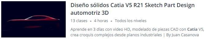 Curso de Catia Español