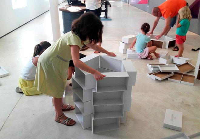 como trabajar la arquitectura en infantil