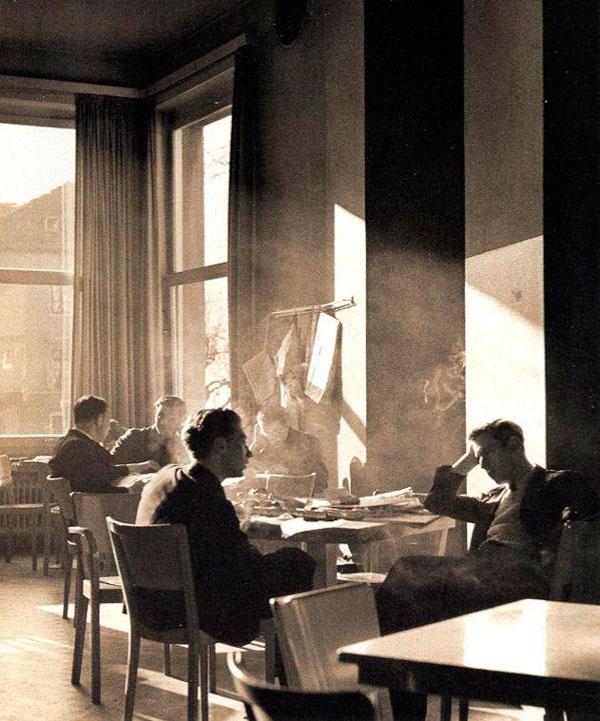 Café de la residencia de estudiantes Hans Baumgartner