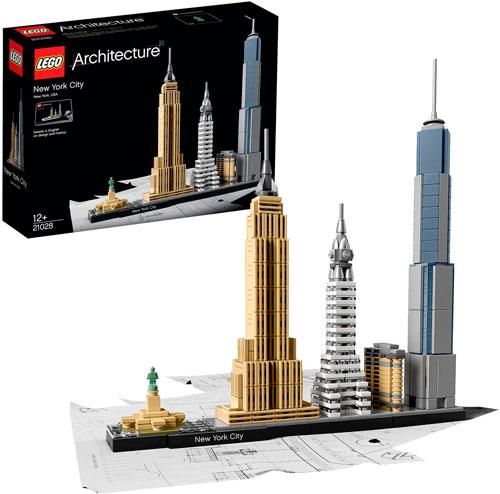 Juguete lego arquitectura