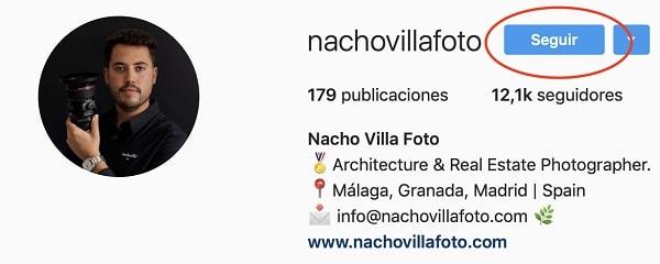 Nacho Villa Instagram
