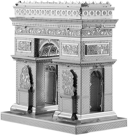 Viya savoya de lego en su caja negra para arquitectos