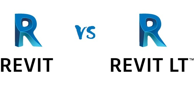 Revit vs Revit LT logo