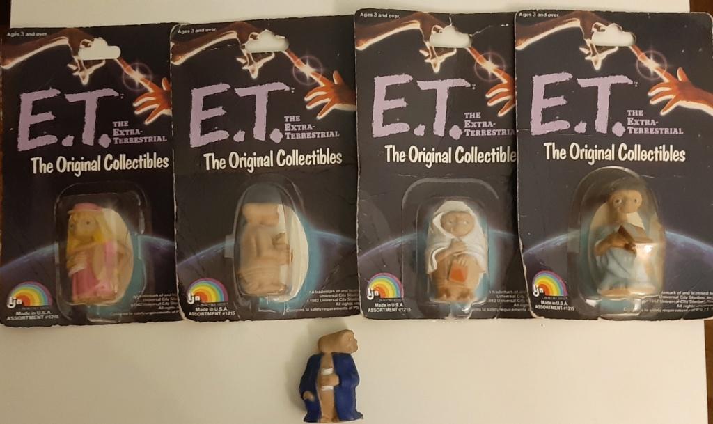 E.T. Extra terrestre lotto 5 action figure  20201115