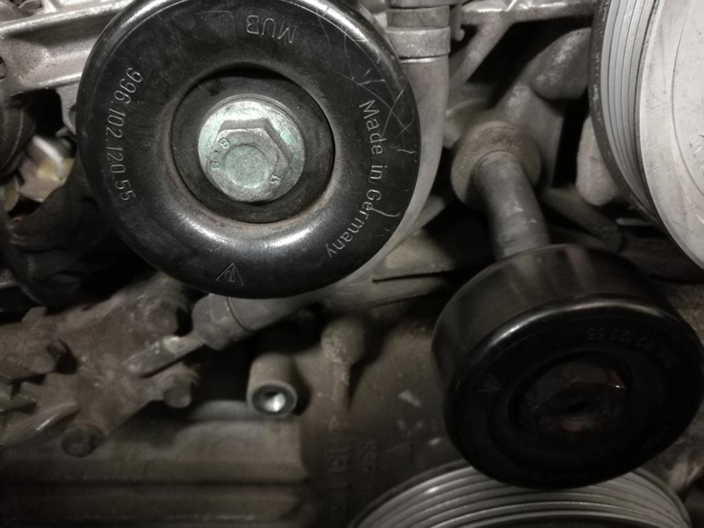 Changement des trois Galets sur moteur M96.04 410