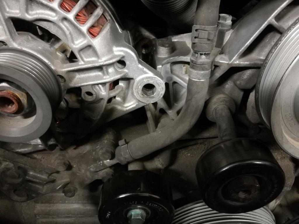 Changement des trois Galets sur moteur M96.04 610