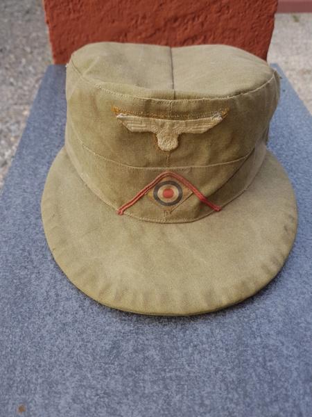 Feldmütze  Afrikakorps 20180824