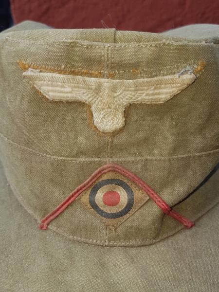 Feldmütze  Afrikakorps 20180826