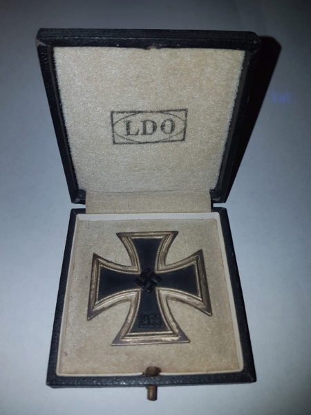 Croix de fer 1.class 1939 20181027