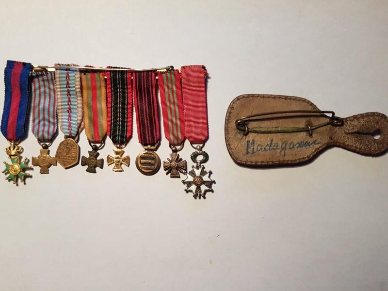 Réduction de médailles +  pucelle Madagascar  20190411