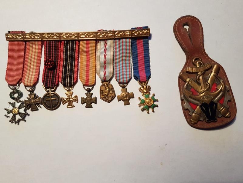 Réduction de médailles +  pucelle Madagascar  20190412
