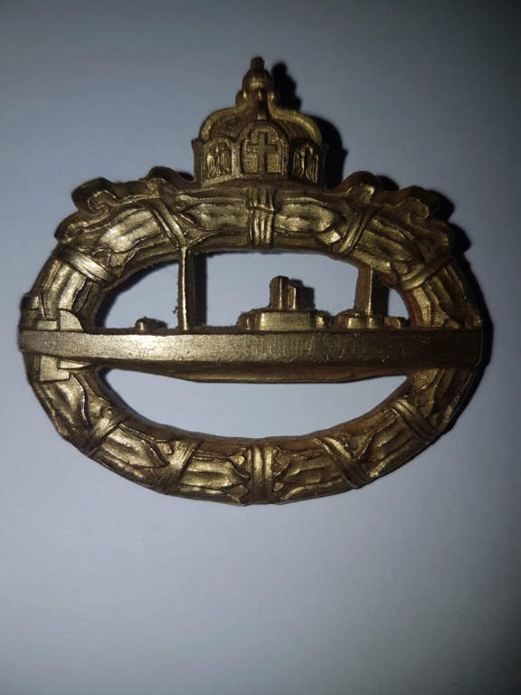 2  insignes sous mariniers allemand W1 20191062