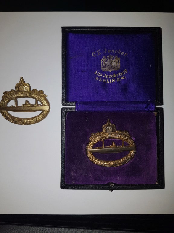 2  insignes sous mariniers allemand W1 20191064