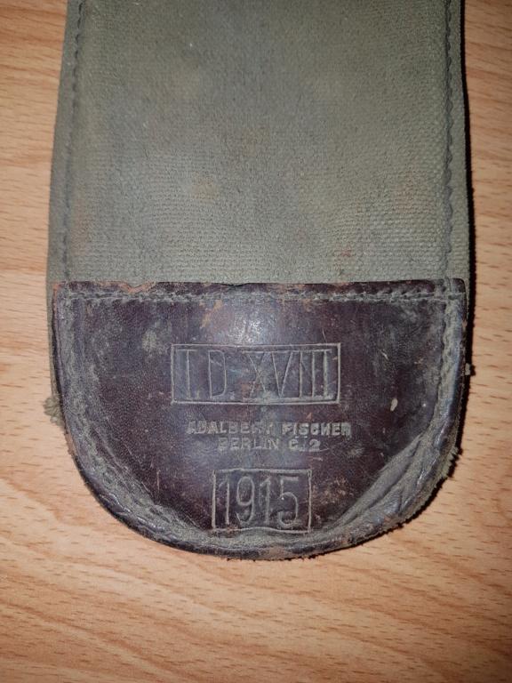 Housse en tissus daté 1915 20191090