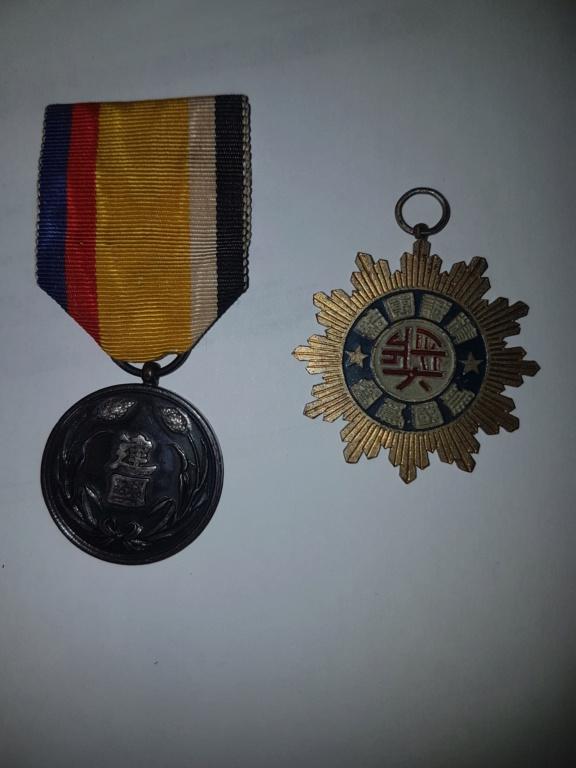 Médailles  japonaise ou chinoise ou .... 20191120