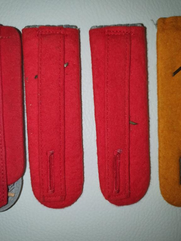 pattes d épaulettes  X3 20200250