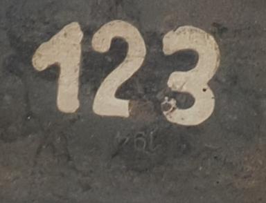 Caisse mg numéroté  20200583