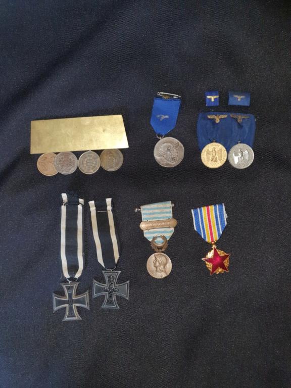 Medailles allemandes et françaises  20200615