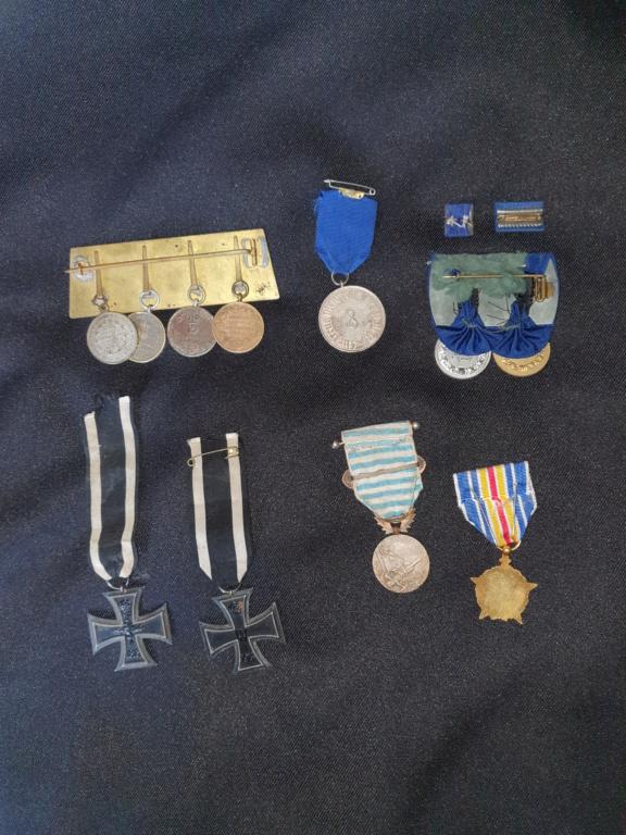 Medailles allemandes et françaises  20200617