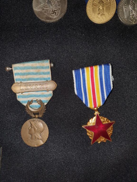 Medailles allemandes et françaises  20200618