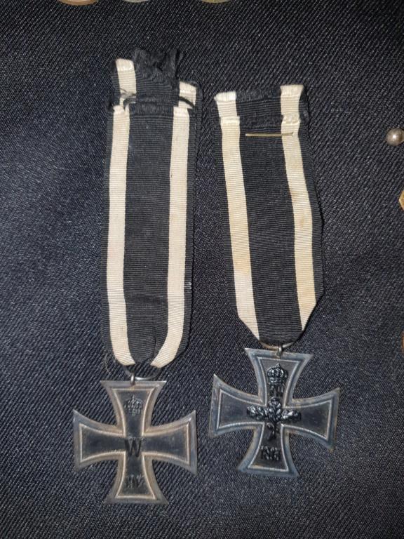 Medailles allemandes et françaises  20200619