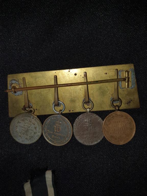 Medailles allemandes et françaises  20200621