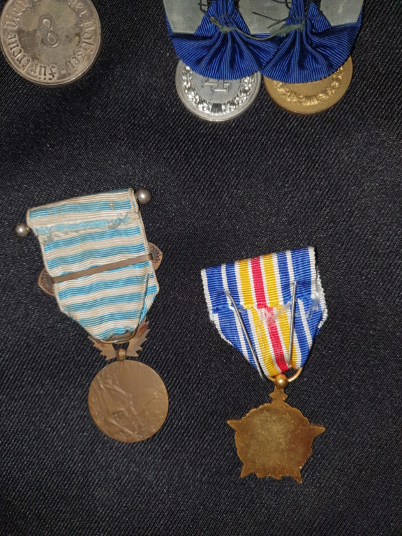 Medailles allemandes et françaises  20200624