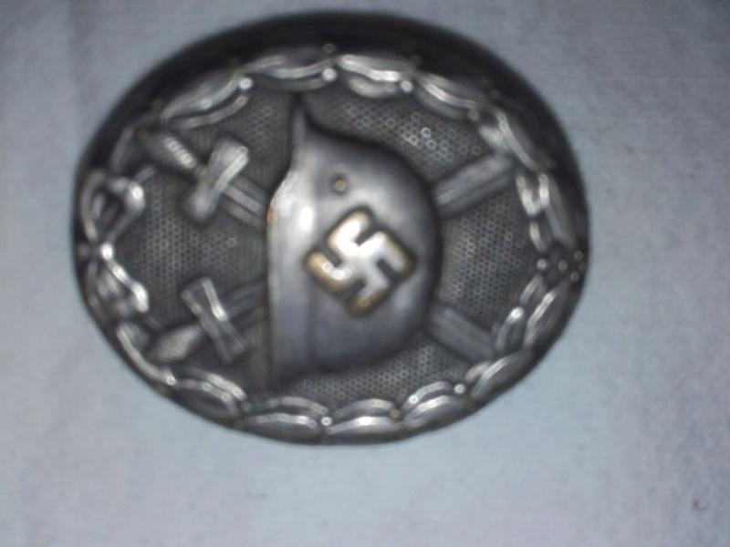 insigne ss + insignes de combats Img-2053