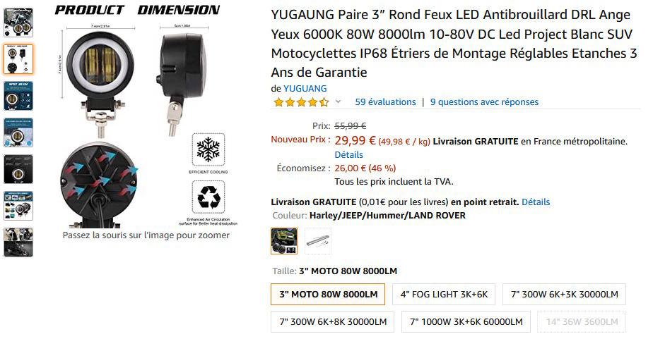 La GL Orangina: audio / full LEDs / angel eyes / feux trottoir / pare-brise électrique / TMPS / voltmètre... 10015