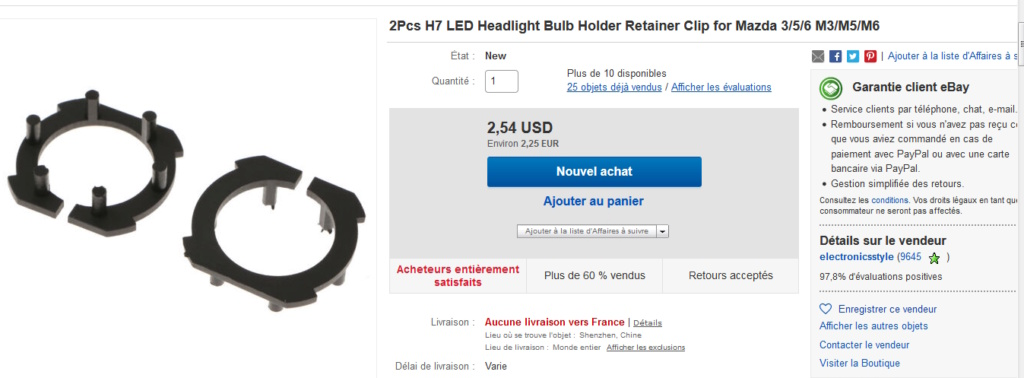 La GL Orangina: audio / full LEDs / angel eyes / feux trottoir / pare-brise électrique / TMPS / voltmètre... 10210