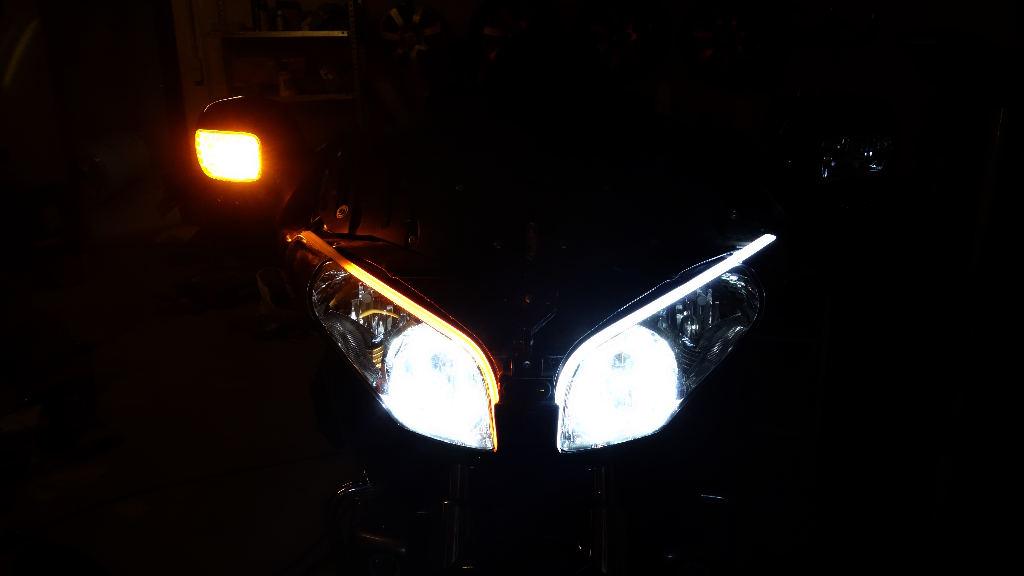 La GL Orangina: audio / full LEDs / angel eyes / feux trottoir / pare-brise électrique / TMPS / voltmètre... 11412