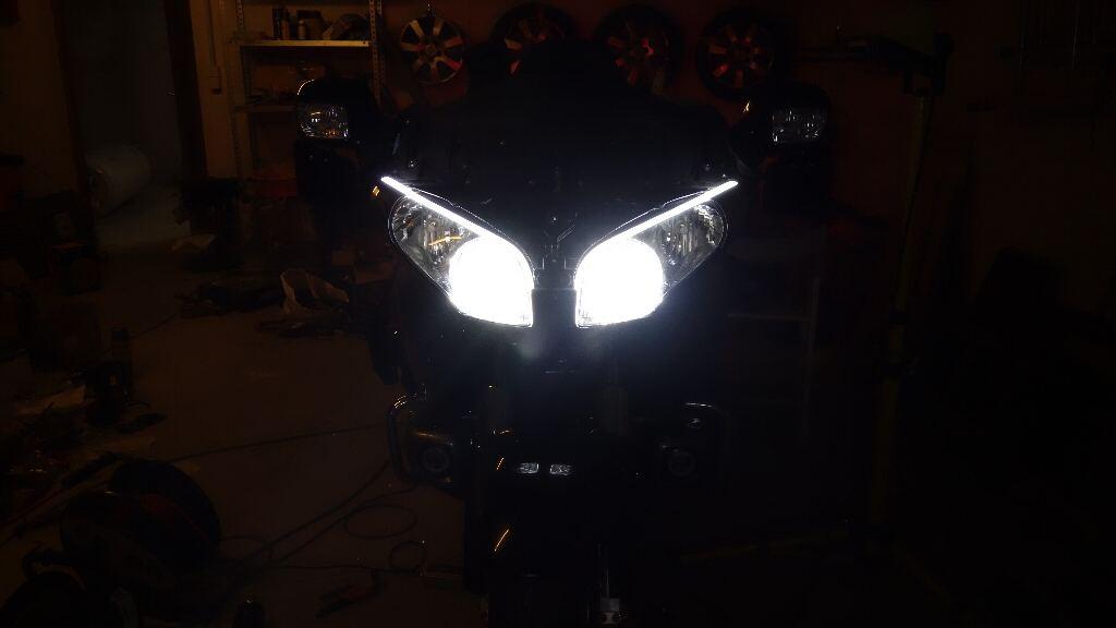 La GL Orangina: audio / full LEDs / angel eyes / feux trottoir / pare-brise électrique / TMPS / voltmètre... 11611