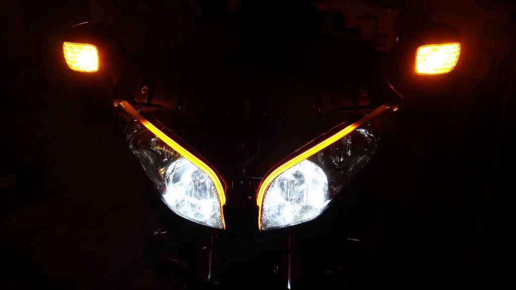 La GL Orangina: audio / full LEDs / angel eyes / feux trottoir / pare-brise électrique / TMPS / voltmètre... 11612